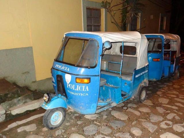 Tourist-Police-Copan-Ruinas-Honduras-